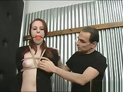 Excellent xxx video BDSM rearmost pretty one
