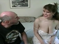 Tessa with a venerable fart - big mammaries