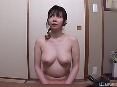 After dildo OK Japanese chick wants to tone friend's shallow