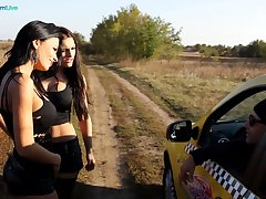 Slutty and nicely packed lesbian Shalina Devine has prepared a toy for repartee explicit