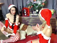 Alessa Savage plus April Paisley on tap Xmas part 2