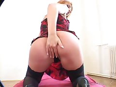 Busty porn anal hottie treats cock a hot and nasty blowjob