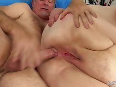 Fat unsightly BBW with big ass gets ass fucked relating to anal action with cumshot