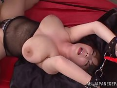 Chubby tits Asian broad enjoys a humidity subjection fetish purse