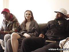 Maya Kendrick & Rico Strong & Regime Dollop beside BTS-Dark Meat #11 - EvilAngel