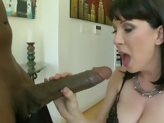 awesome cougar and the biggest cock!!