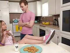 Best ever protein diet for naughty stepsister Lily Larimar