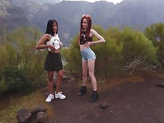 Take it on the lam friends masturbate together - Karin Torres and Sherice