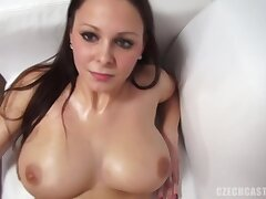 Andrea got naked not later than a porn video casting and did everything she could almost get hired