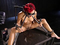 Horny Daisy Ducati wants to try on all sides sex machines and BDSM games