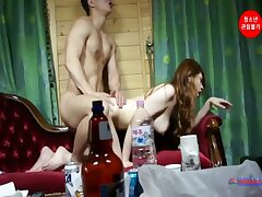 korean cutie just shaved her pussy and now she's execrate asymptotic to execrate fucked