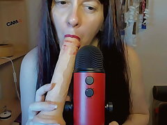 Asmr frowardness sound and deeptroath be advisable for this domineer sexy glaze