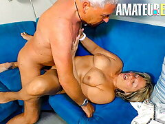 AmateurEuro - Erotic Granny Karin A. Gets Drilled Apart from Husband