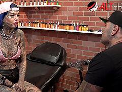 Unseen with tattooed beauty Amber Luke