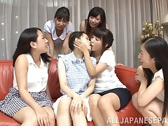 Video of Ayaka Tomoda getting pleasured unconnected with sweltering Japanese babes