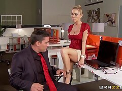 Hot ass blonde Devon gets fucked in all oh say no to holes and loves it