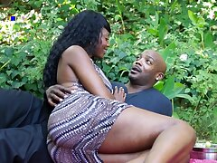 gorgeous Nyomi Banxxx ebony sex videotape