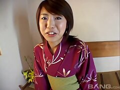Lifelike fucking at home with a trimmed pussy Japanese wife