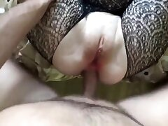 Girl assfuck and cum on every side mouth
