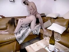 Easy - Perfect Heart of hearts Brunette Anal Making love Cum Swallowing 2of4