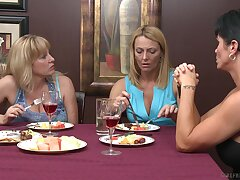 Sweet lesbo chick Brenda James gets licked by kinky Lily Cade