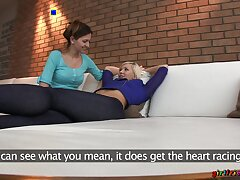 Desirable blonde model gets the brush pussy disjointed off out of one's mind slutty Eufrat Mai