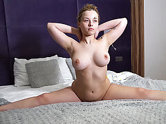 chubby flexi stepsis first time in one's birthday suit