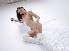 SuperbeModels: Violet Femme With Violet Hart on PornHD