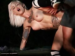 Tommy Gunn & Kleio Valentien are fucking by the fire