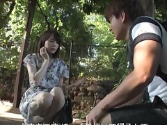 Homemade video of Japanese cutie Suzumura Airi giving a sloppy blowjob