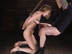 Kristen Scott: Bondage Slut Powerfucked Secure Stupendous Twitching Orgasms