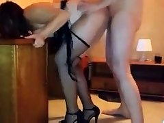 Layman Fucked Doggystyle With Cumshot In Pool Supply Store