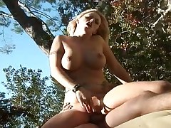 Busty wanton nympho Brittney Skye greedily rides strong cock