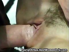 Teen Feeling Having Sex On every side Old Fellow Voyeur