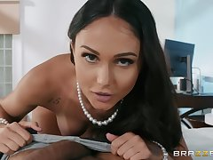 Ariana Marie pine for enduring penis deep inside her brashness and cunt